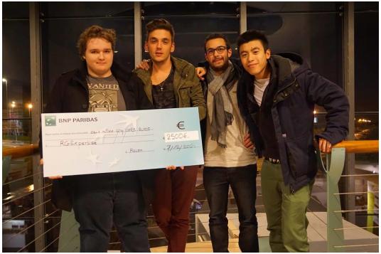 L'équipe RGExpertise - StartupWeekend Rouen